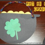 pot of gold construction paper craft