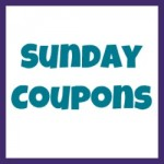 sunday coupons