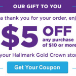hallmark coupon