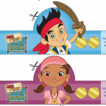 Pirate Easter Activities from Jake and the Neverland Pirates and Peter Pan!