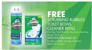 scrubbing bubbles one step toilet bowl cleaner printable coupon