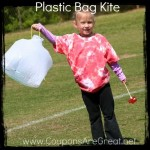 plastic bag kite