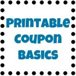 Printable Coupon Basics