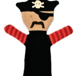 Pirate Puppet from Cate and Levi