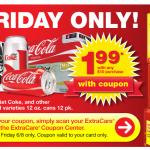 CVS Friday Deal: $1.99 Coke 12 Packs with any $10 Purchase