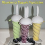 Make Your Own Blueberry Yogurt Popsicles