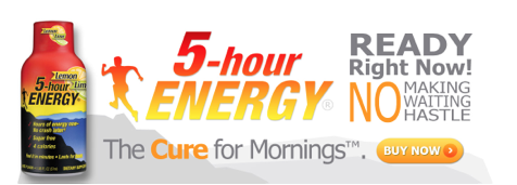 5 hour energy coupons