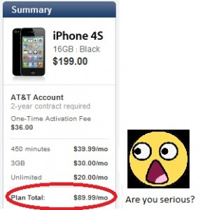 Prepaid iPhone for $45 per month