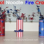 pool noodle fire cracker
