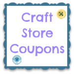 Printable Craft Coupons: JoAnns and Michaels