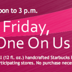 Free Starbucks Refresher In Store Today from Noon Until 3:00