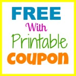 free with printable coupon