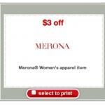 Target: Women's Merona Shirts only $3