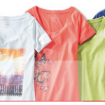 target camis and tees with coupon