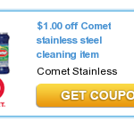 Free Comet Stainless Steel Cleaning Item at Target