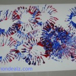 Independence Day Craft Idea for Kids: Spectacular Fireworks