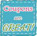 coupons are great button