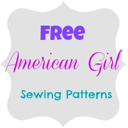 "Here is a list of great American Girl sewing patterns that will work with all 18"" dolls"