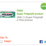 Super Poligrip Free Product Printable Coupon