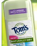 free tom's deodorant sample