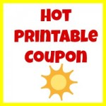 hot printable coupon
