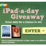Last Day to Enter to Win the Coupons.com iPad Giveaway