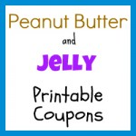 Peanut Butter and Jelly Coupons