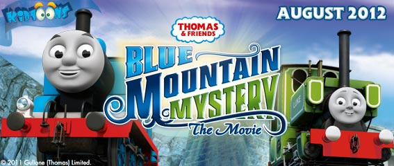 kidtoons thomas and friends blue mountain mystery toy