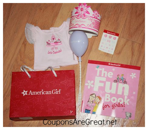 American Girl Birthday Party