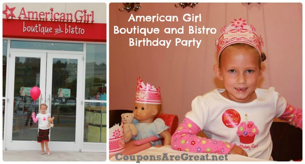 American Girl Boutique And Bistro Party Coupons Are Great
