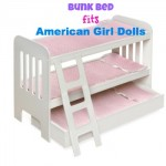 american girl bunk bed