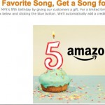 Amazon MP3: Share Your Favorite Song, Get a Song for a Nickel Via Facebook