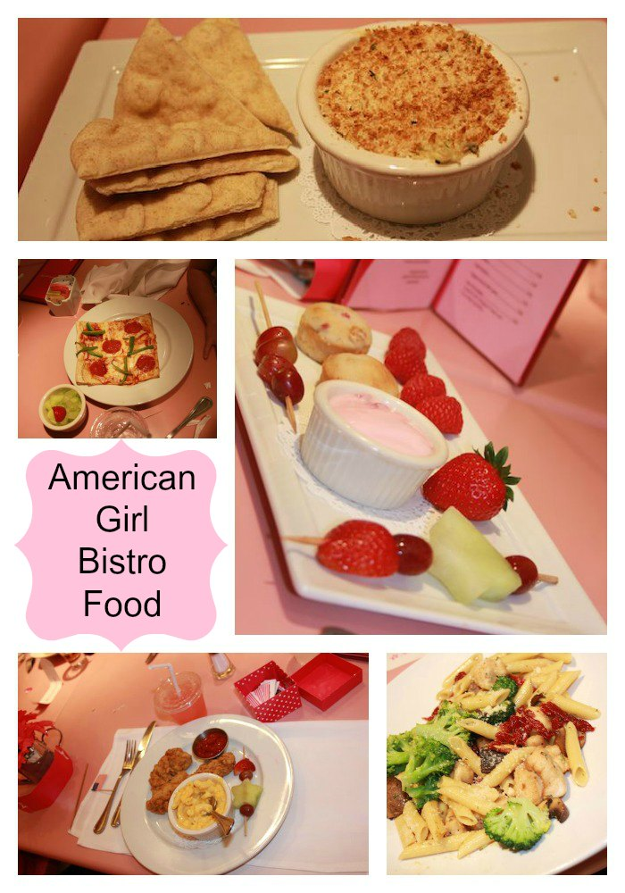 American girl bistro food american girl birthday party for American bistro cuisine