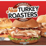 Arby's Free Turkey Roasters Sandwich: Today From 11:00 am until 1:00 pm