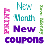 New Printable Coupons to Save Money