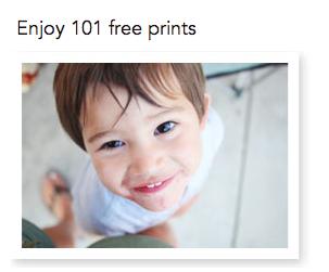101 free prints shutterfly