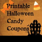 Printable Halloween Candy Coupons