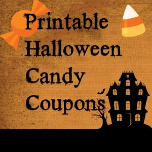 Save money with printable Halloween candy coupons!