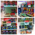 October Target Clearance: Toys, Clothing, Pool, Books, Crafts, and More