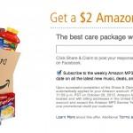 FREE $2 Amazon MP3 Credit: Last Day