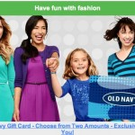 old navy gift card offer saveology