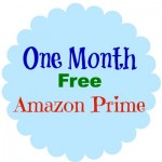 one month free amazon prime