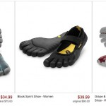Save up to 55 Percent on Vibram FiveFingers Shoes