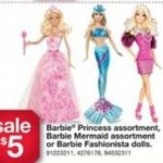 barbie fashionista kmart black friday