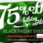 cardstore 75 percent holiday