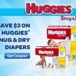 High Value Huggies Coupon: Print to Save $3 (Pay $3.66 per pack at CVS)