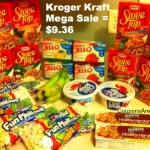 kroger kraft mega shopping trip