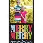vistaprint holiday cards deal