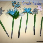 Make Your Own Festive Holiday Pens with Tutorial