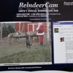Watch Santa Feed His Reindeer via ReindeerCam